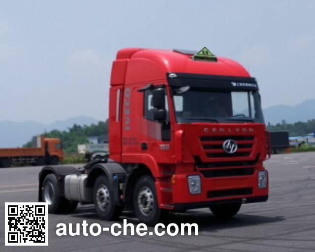 SAIC Hongyan CQ4256HXDG273U dangerous goods transport tractor unit