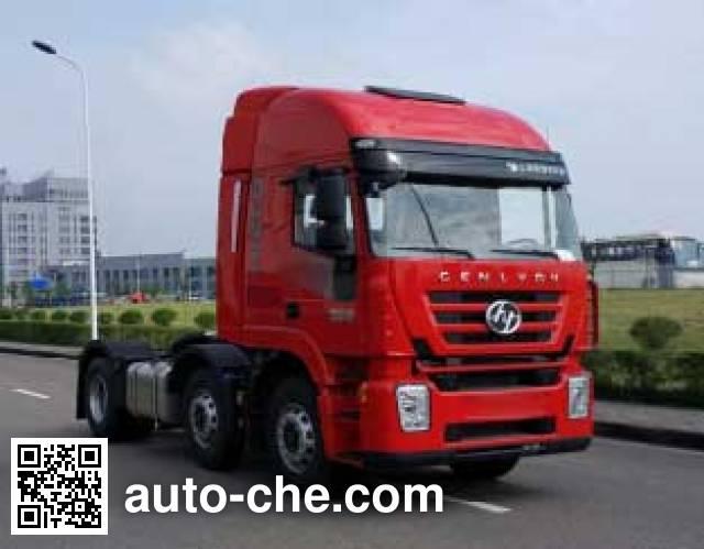 SAIC Hongyan CQ4256HXVG273C container carrier vehicle