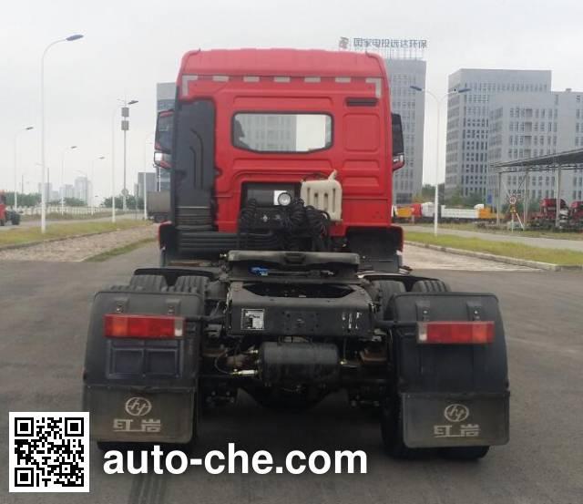 红岩牌CQ4256ZTVG334C集装箱半挂牵引车