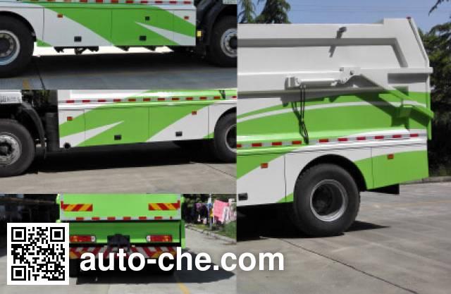 SAIC Hongyan CQ5166ZLJHTG461 garbage truck