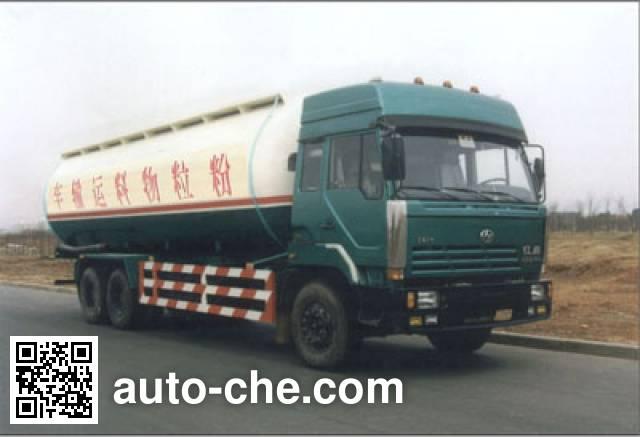 红岩牌CQ5253GFLTLG434粉粒物料运输车