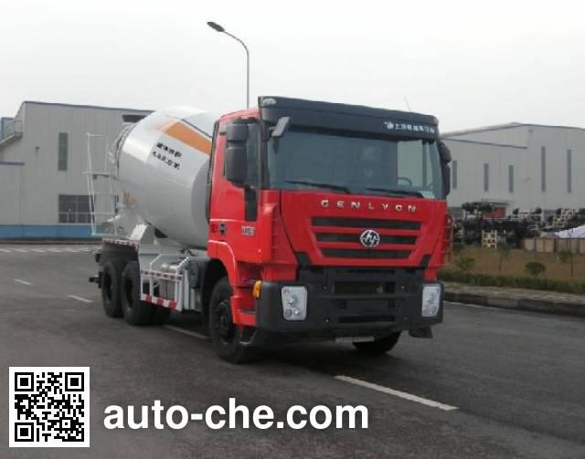 红岩牌CQ5255GJBHTG444混凝土搅拌运输车
