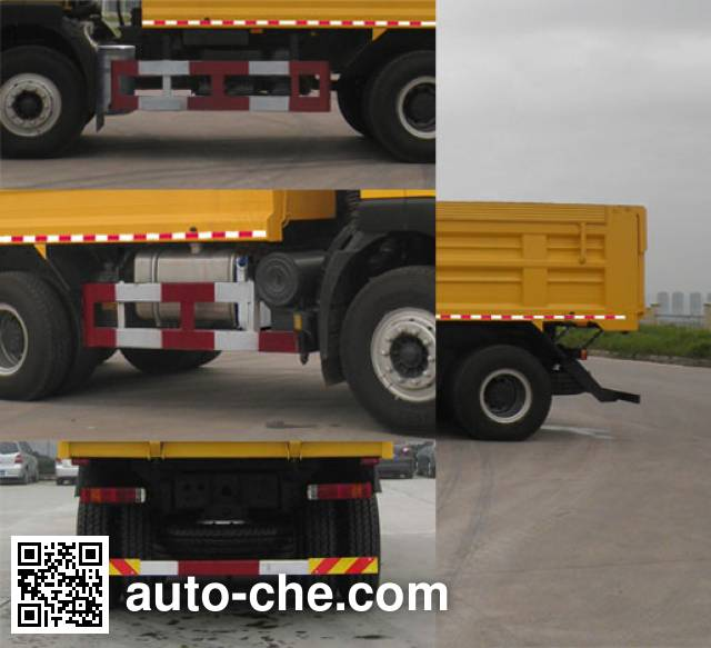 SAIC Hongyan CQ5255ZLJHMDG384AS dump garbage truck