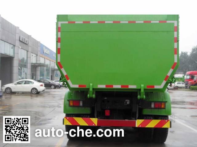 SAIC Hongyan CQ5255ZLJHMDG384S dump garbage truck