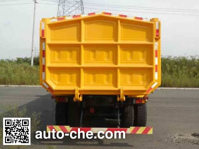SAIC Hongyan CQ5255ZLJHMDG404L dump garbage truck