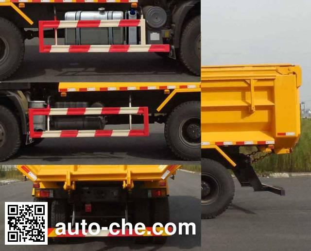 SAIC Hongyan CQ5255ZLJHMDG404S dump garbage truck