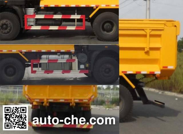 SAIC Hongyan CQ5255ZLJHMVG384BS dump garbage truck