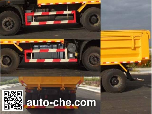 SAIC Hongyan CQ5255ZLJHTDG404S dump garbage truck