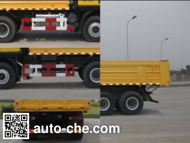 SAIC Hongyan CQ5255ZLJHTG384 dump garbage truck
