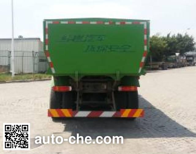 SAIC Hongyan CQ5255ZLJHTVG384L dump garbage truck