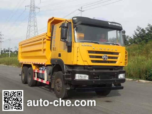 SAIC Hongyan CQ5255ZLJHTVG384S dump garbage truck
