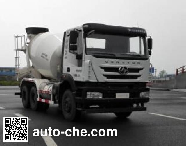 SAIC Hongyan CQ5256GJBHTVG444H concrete mixer truck