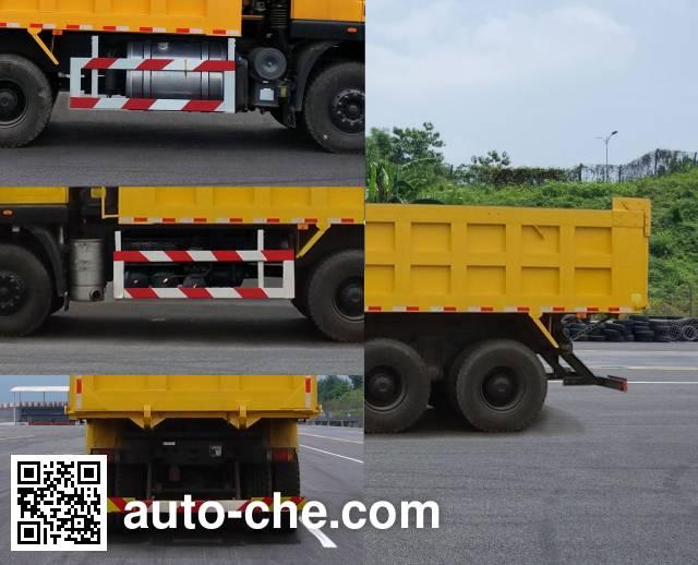 SAIC Hongyan CQ5256ZLJHMVG384AS dump garbage truck
