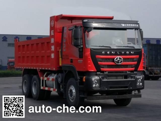 SAIC Hongyan CQ5256ZLJHMVG404S dump garbage truck
