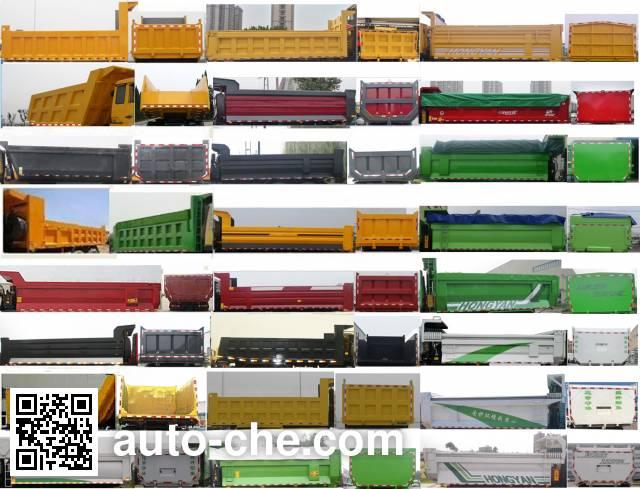 SAIC Hongyan CQ3256HXVG364S dump truck