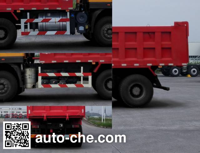 SAIC Hongyan CQ5256ZLJHTDG384S dump garbage truck