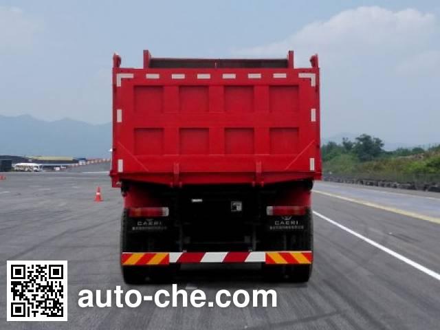 SAIC Hongyan CQ5256ZLJHTVG404S dump garbage truck