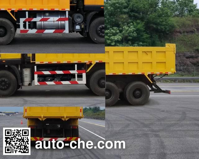 SAIC Hongyan CQ5256ZLJHXVG384BS dump garbage truck