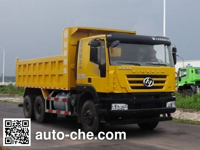 SAIC Hongyan CQ5256ZLJHXVG404S dump garbage truck