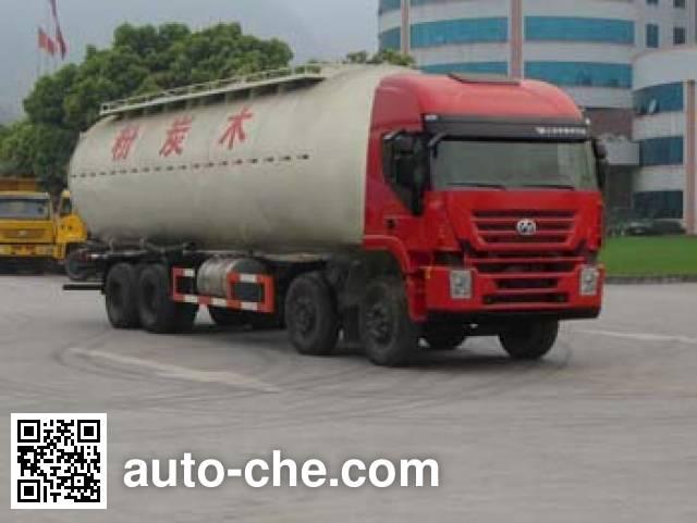 红岩牌CQ5314GFLHTG466粉粒物料运输车