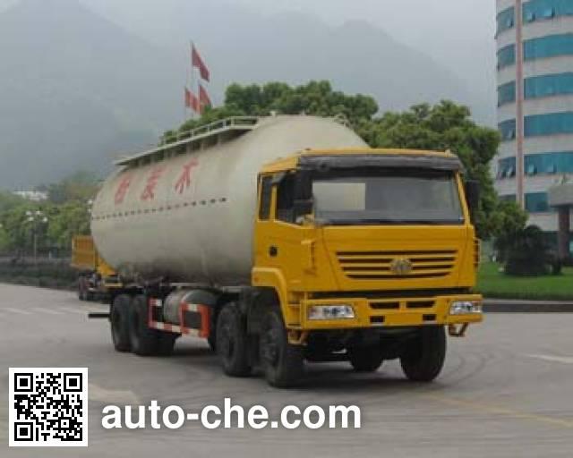 红岩牌CQ5314GFLSMG466粉粒物料运输车