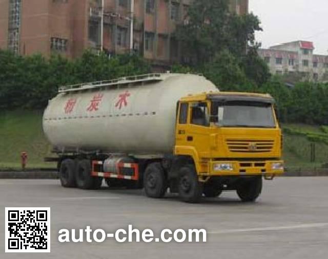 红岩牌CQ5314GFLSTG466粉粒物料运输车