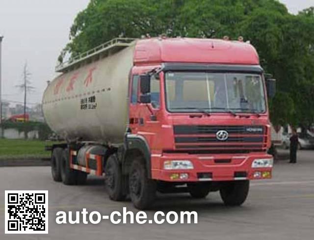 红岩牌CQ5314GFLTRG466粉粒物料运输车