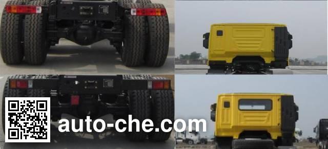 SAIC Hongyan CQ3315HTG396 dump truck