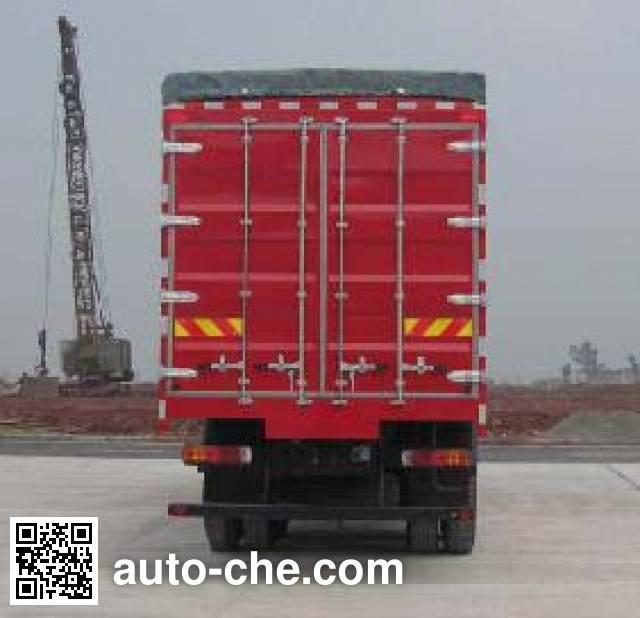 SAIC Hongyan CQ5314XXYHTG466P soft top box van truck