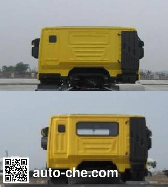 SAIC Hongyan CQ5315GFLHTG466 low-density bulk powder transport tank truck