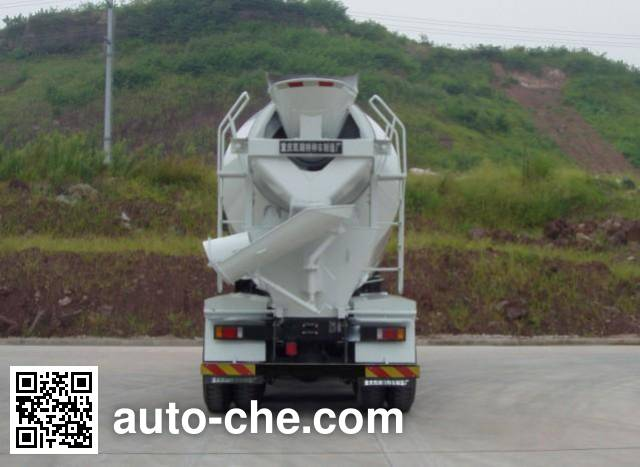 红岩牌CQ5315GJBHXG366混凝土搅拌运输车