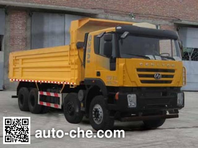 SAIC Hongyan CQ5315ZLJHMDG306L dump garbage truck