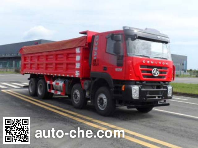 SAIC Hongyan CQ5315ZLJHMDG306S dump garbage truck