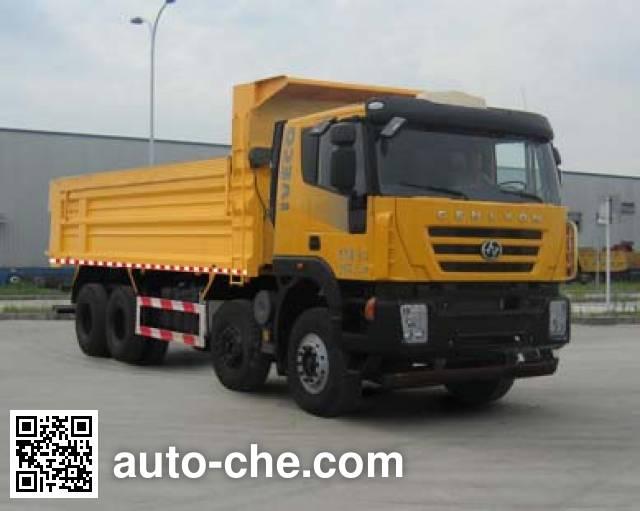 SAIC Hongyan CQ5315ZLJHMDG336L dump garbage truck