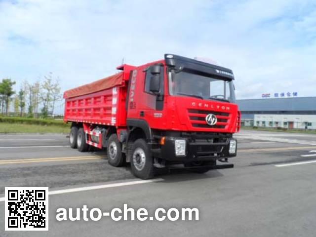 SAIC Hongyan CQ5315ZLJHMDG336S dump garbage truck