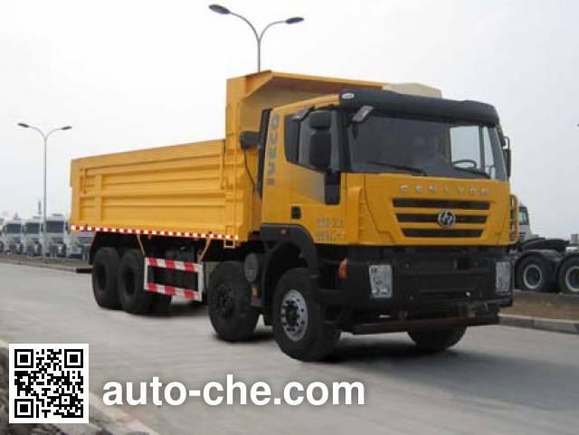 SAIC Hongyan CQ5315ZLJHTVG336L dump garbage truck