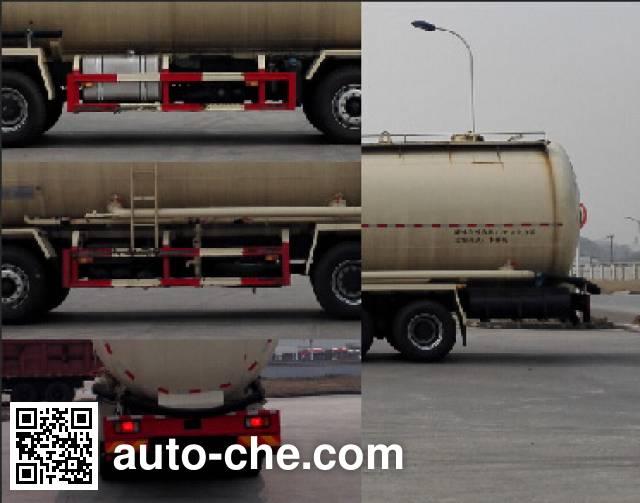 红岩牌CQ5316GFLHTVG466H低密度粉粒物料运输车