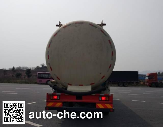 红岩牌CQ5316GFLHXVG466H低密度粉粒物料运输车