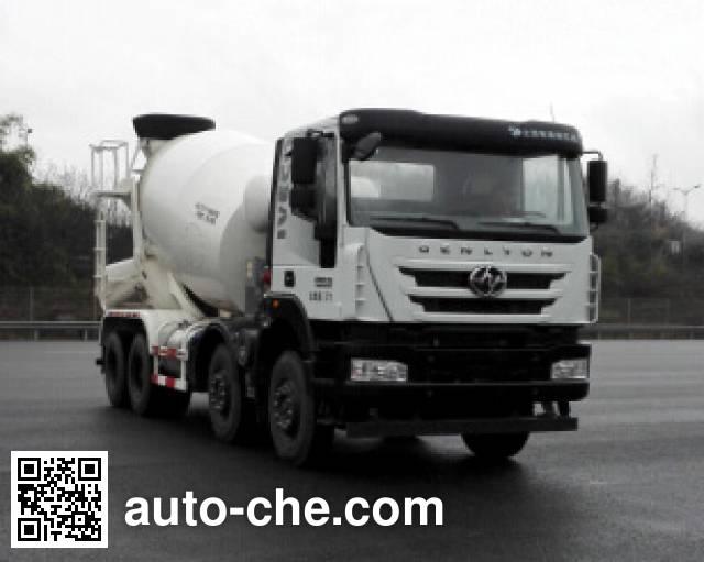 SAIC Hongyan CQ5316GJBHTVG336H concrete mixer truck