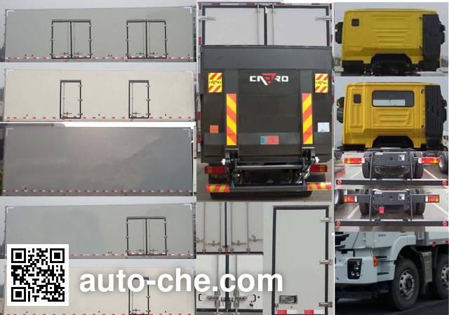 SAIC Hongyan CQ5316XLCHTVG466 refrigerated truck