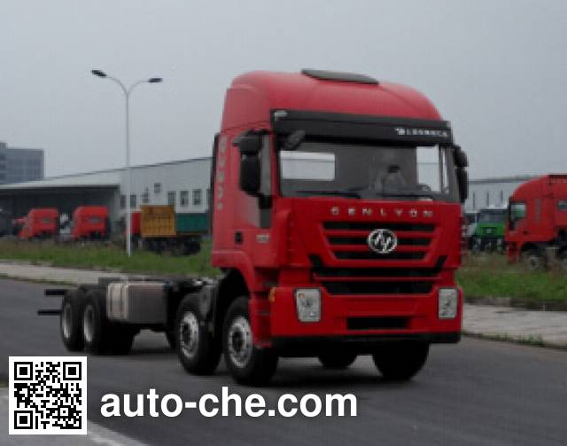 SAIC Hongyan CQ5436TXHTG42-466 special purpose vehicle chassis