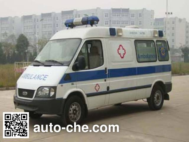 长庆牌CQK5031XJH4救护车