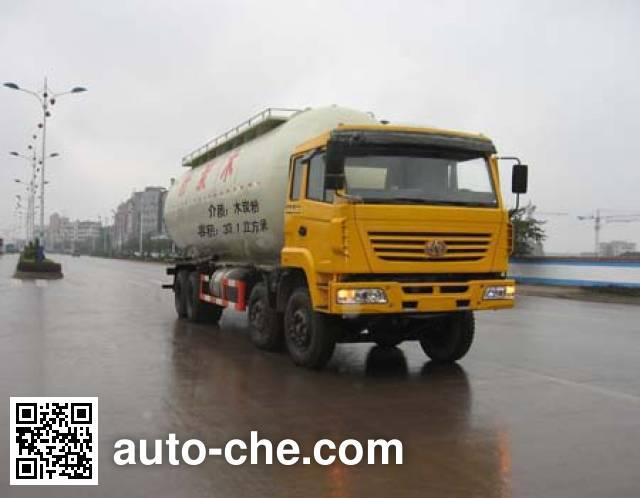 红岩牌CQZ5314GFL粉粒物料运输车