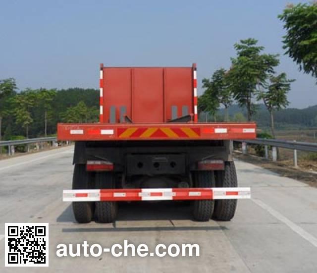 XGMA Chusheng CSC3250CFP flatbed dump truck