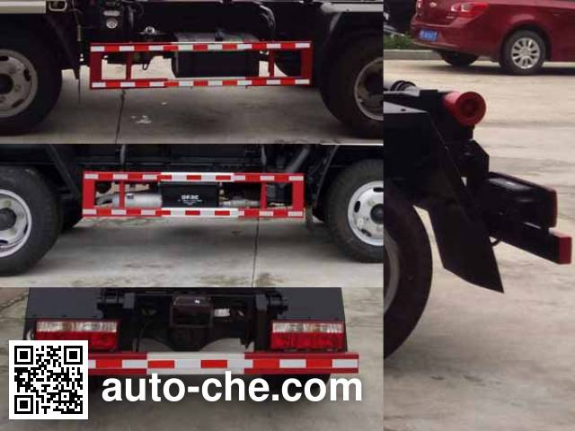 XGMA Chusheng CSC5041ZXX5 detachable body garbage truck