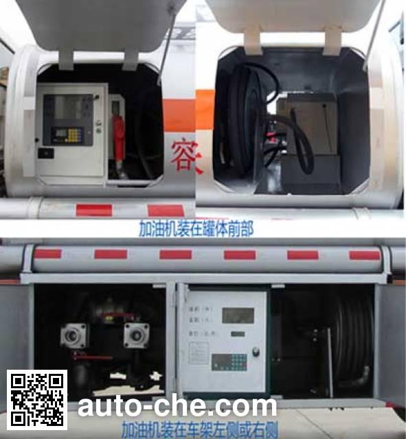 XGMA Chusheng CSC5073GJYJH fuel tank truck