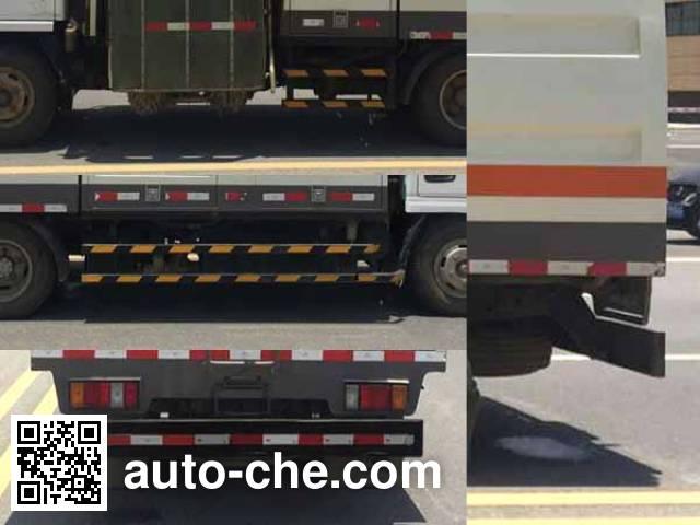 XGMA Chusheng CSC5073GQXWV highway guardrail cleaner truck