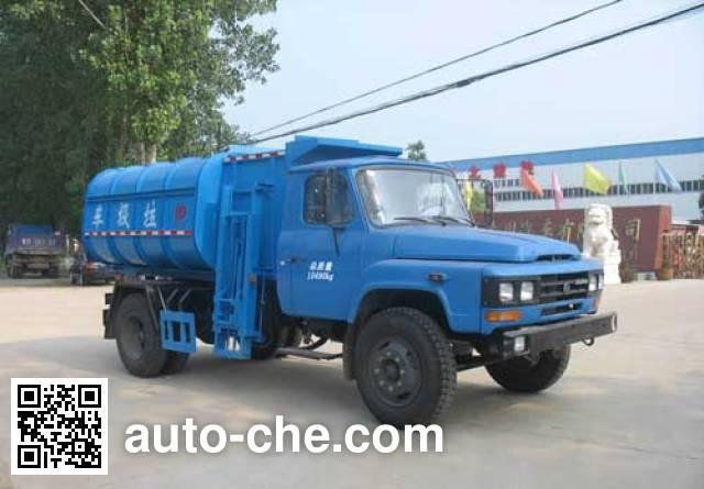 XGMA Chusheng CSC5101ZZZ self-loading garbage truck