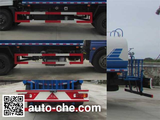XGMA Chusheng CSC5163GPSB5 sprinkler / sprayer truck