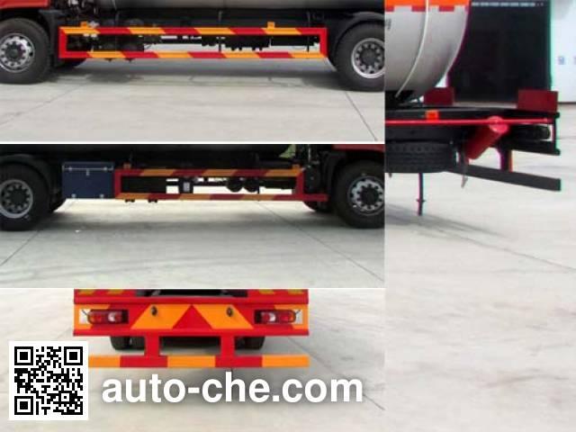 XGMA Chusheng CSC5252GYQEX liquefied gas tank truck